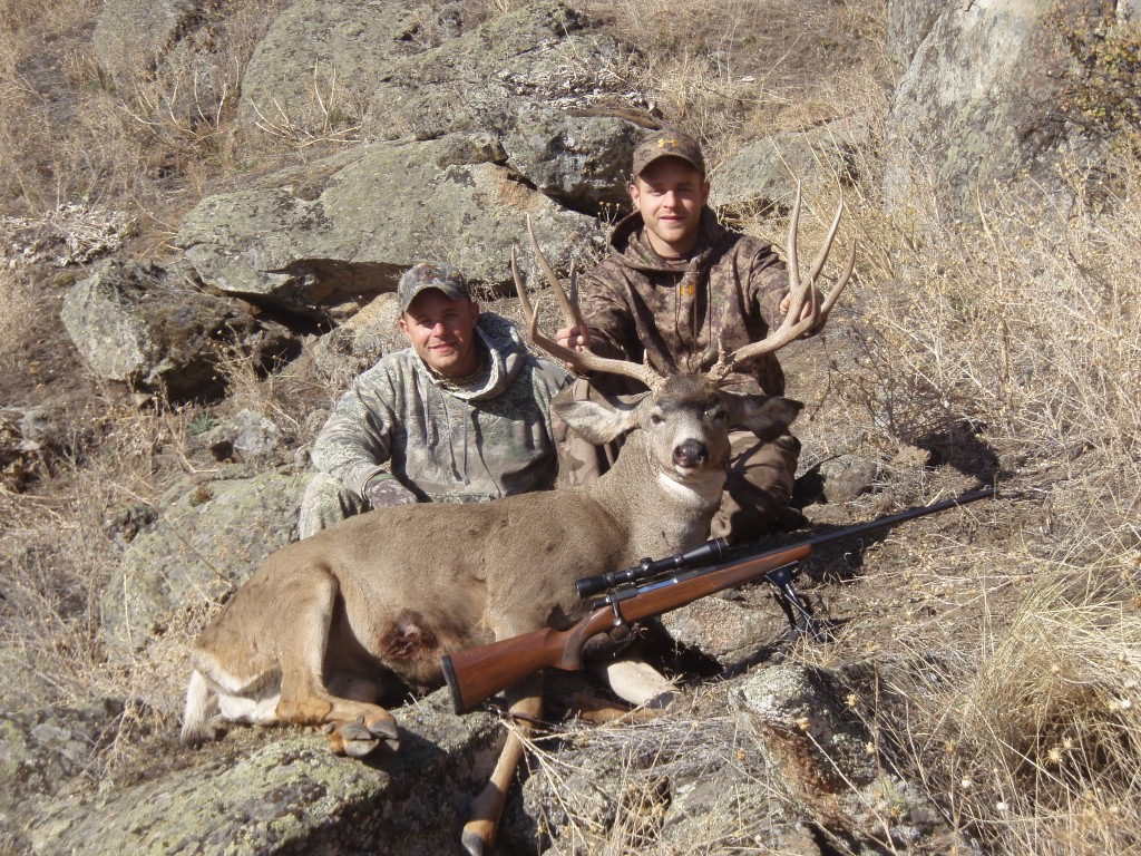 Spot and stalk Deer Hunting