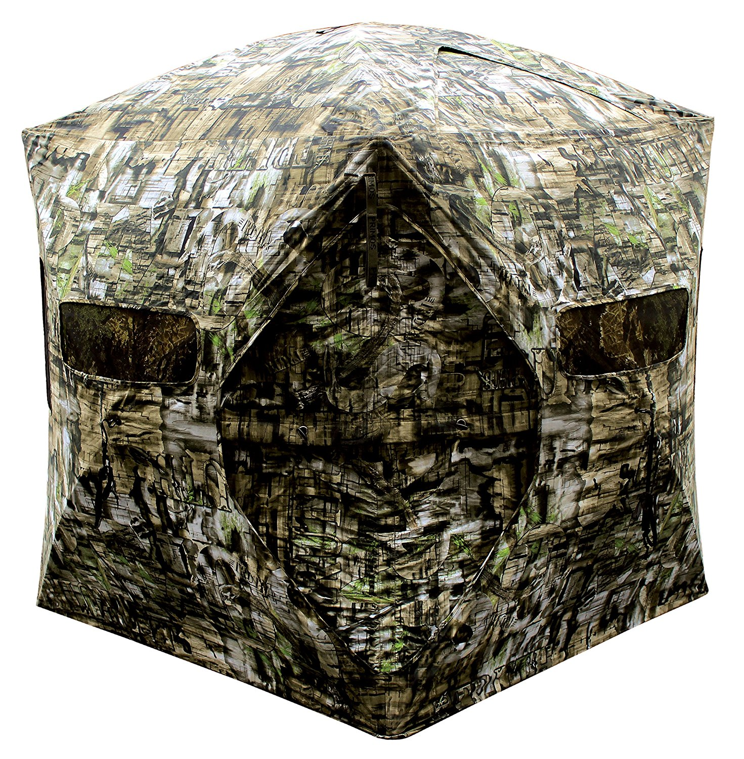pop outdoors big mike blind brickhouse blinds com portable blades dp up ameristep hunting sports barronett amazon camo ground bloodtrail