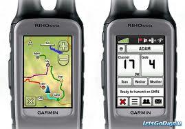 Best GPS for Hunting : Garmin Rino 650