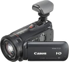 Canon HF G10 with Mic